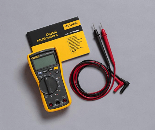 """Fluke 117 Électriciens True RMS Multimeter Review """"width ="""" 400 """"height ="""" 400 """"class ="""" size-full wp-image-607"""